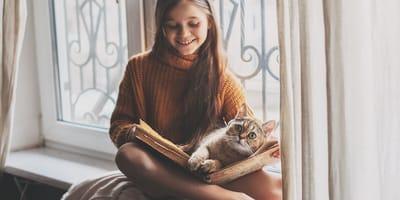 Zal jouw kat vaak in contact komen met kinderen?